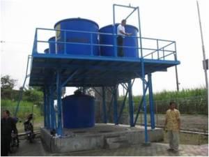 Struktur Platform Tangki Penampung